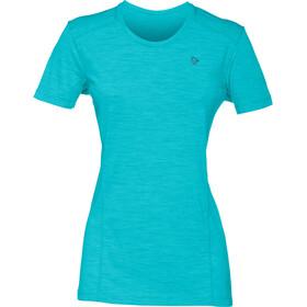 Norrøna W's Wool T-Shirt Aquanaut